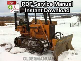 Case 350B Crawler Dozer Service Manual