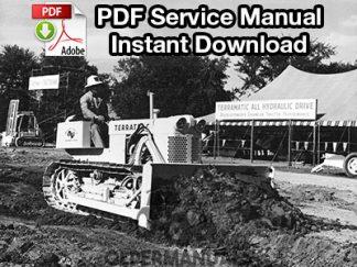 Case 600 Terratrac Crawler Dozer Service Manual