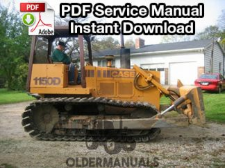 Case 1150D, 1155D Crawler Dozer Service Manual