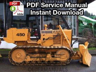 Case 450B, 455B Crawler Dozer Service Manual