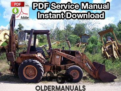 Case Tractor Loader Backhoe Service Manual Pdf Download