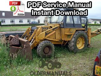 Case 580F Tractor Loader Backhoe Service Manual