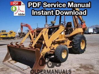 Case 680 Tractor Loader Backhoe Service Manual