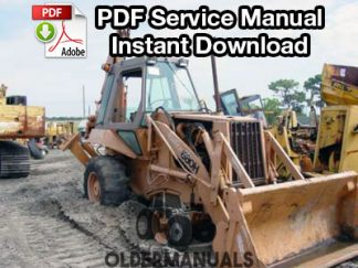 Case 680H Tractor Loader Backhoe Service Manual