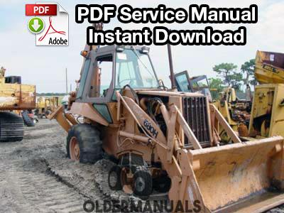 Case 680H Tractor Loader Backhoe Service Manual