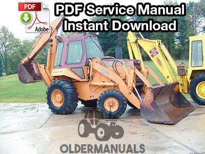 Case 780B Tractor Loader Backhoe Service Manual