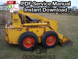 Case 1526, 1530, 1530B, 1537 Skid Steer Service Manual