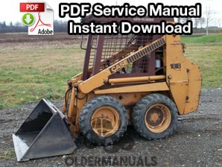 Case 1818 Skid Steer Service Manual