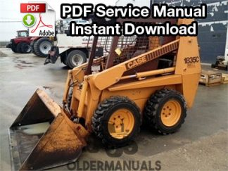 Case 1835C Skid Steer Service Manual