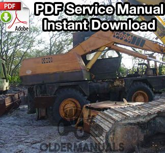 Case 880R Wheeled Excavator Service Manual