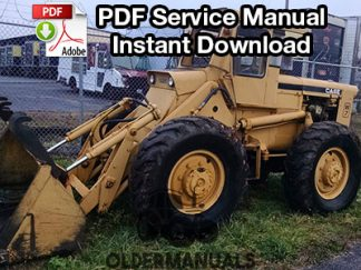 Case W7 4WD Backhoe Loader Service Manual PDF Download