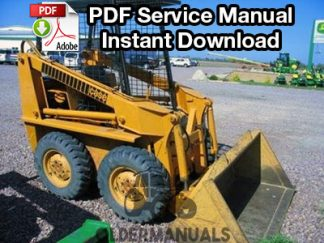 Case 1830 Skid Steer Service Manual