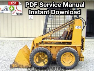 Case 1816 Skid Steer Service Manual