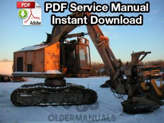 Case 1187, 1187B Feller Buncher Service Manual