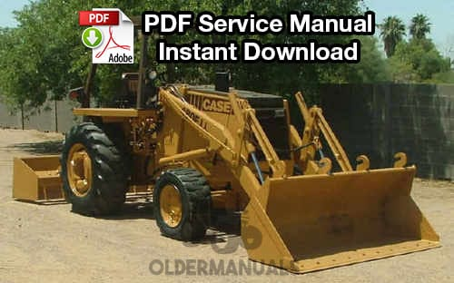 case 480 480ck tractor loader backhoe service manual oldermanuals com rh oldermanuals com case 580 wiring diagram Panel Wiring Diagram for 480