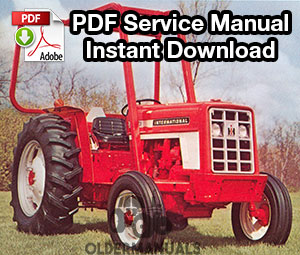 Case IH 454, 464, 484, 574, 584, 674, 684, 784, 884, 84 Hydro, 385 Tractor Service Manual