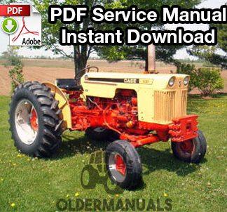 Case 430, 530, 470, 570 Tractor Service Manual