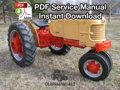 Case 350, 500B, 600B Tractor Service Manual