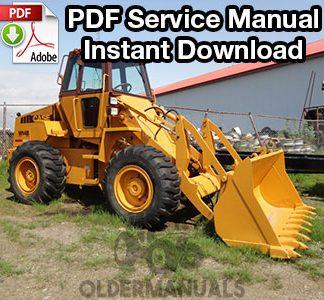 Case W14B Wheel Loader Service Manual