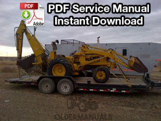 Case W3 & 420B Tractor Loader Backhoe Service Manual