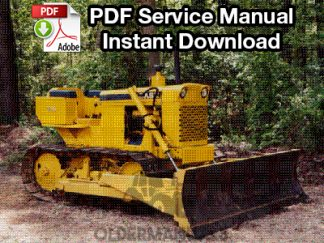 Case 310, 310E, 310F, 310G, 320, 350 Crawler Dozer Service Manual