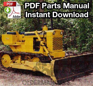 Case 310E Crawler Dozer Parts Manual