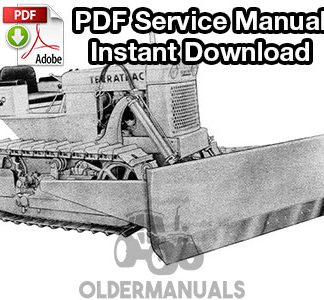Case 420, 420B, 420C Terratrac Crawler Dozer Service Manual