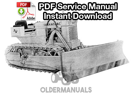 Case 420, 420B, 420C Terratrac Crawler Dozer Service Manual