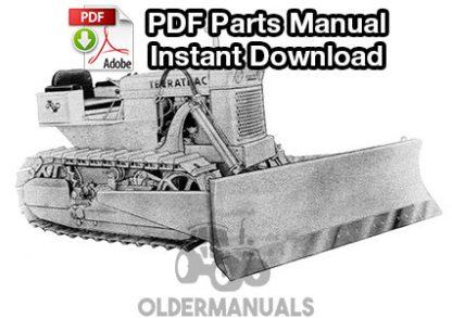 Case 420C Terratrac Crawler Dozer Parts Manual