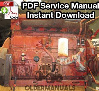 Case IH D155, D179, D206, D239, D246, D268, D310, D358, DT239, DT358, DT402 Service Manual