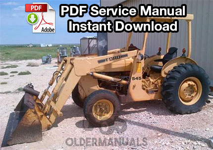 Ford 340a service manual  Ford Tractor Wiring Diagram on