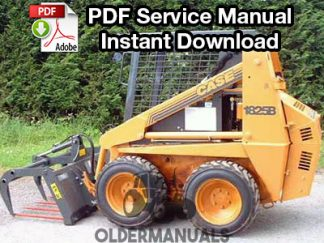 Case 1825, 1825B Skid Steer Service Manual