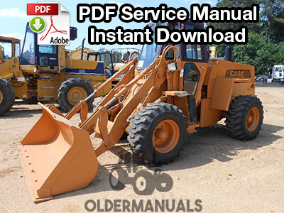 Case W11B Wheel Loader Service Manual