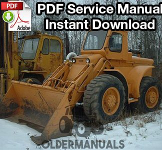 Case W8B, W9B, W10B Wheel Loader Service Manual