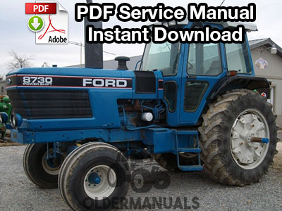 Ford TW5, TW15, TW25, TW35, 8530, 8630, 8730, 8830 Tractor Service Manual