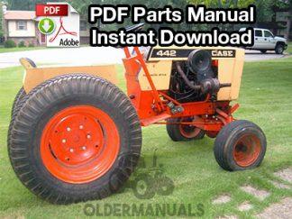 Case 220, 222, 442 Tractor Parts Manual