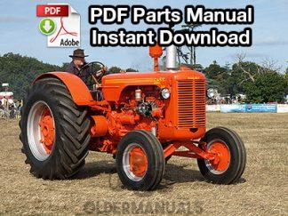 Case 500 Diesel Tractor Parts Manual