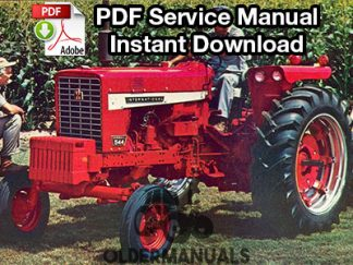 International Farmall 544 Tractor Service Manual