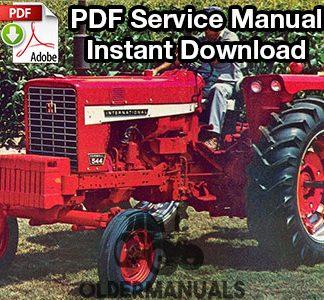 International Farmall 544 Tractor Service Manual