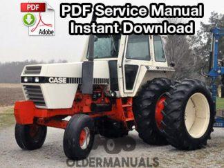 Case 2090, 2290 Tractor Service Manual
