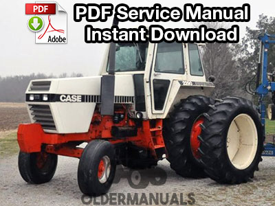 Case 2090, 2290 Tractor Service Manual