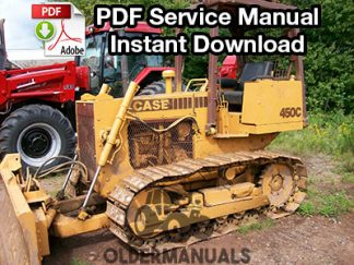 Case 450C, 455C Crawler Dozer Service Manual