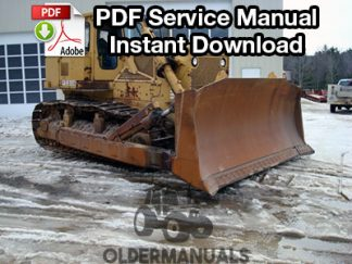 Fiat Allis FD30B Crawler Dozer Service Manual
