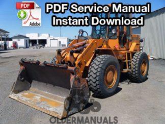 Fiat Allis FR10B Wheel Loader Service Manual