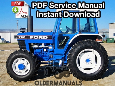 [SCHEMATICS_4FD]  Ford 2910, 3910, 4110, 4610, 5610, 6610, 6710, 7610, 7710, 8210 Tractor  Service Manual - OlderManuals.com | Wiring Diagram Ford Tractor 7710 |  | OlderManuals