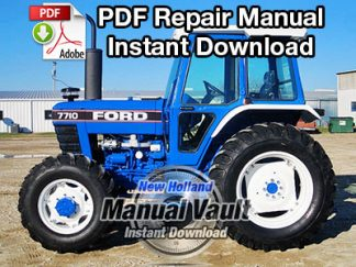 Ford 2910, 3910, 4110, 4610, 5610, 6610, 6710, 7610, 7710, 8210 Tractor Service Manual