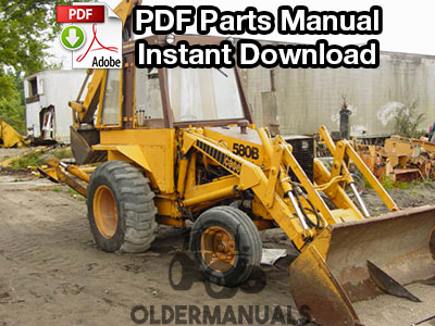 case 580b tractor shuttle parts manual oldermanuals com rh oldermanuals com case 580b backhoe service manual case 580b backhoe repair manual