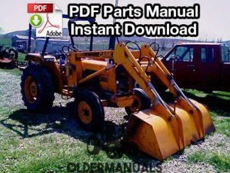 Case 380 Tractor/Landscape Loader Parts Manual