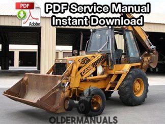 Case 680G Tractor Loader Backhoe Parts Manual