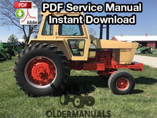 Case 1270, 1370, 1570 Tractor Service Manual PDF Download